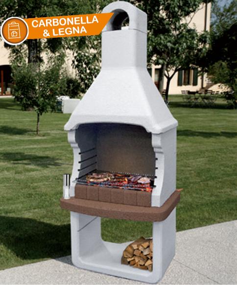Barbecue Legna Carbonella Brioni