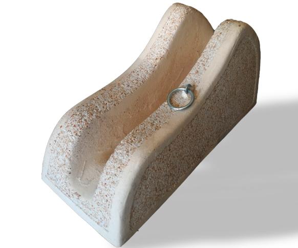 Portabiciclette Cemento