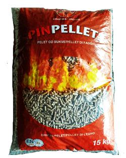 Pin Pellet Faggio