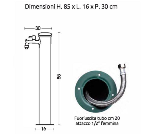 scheda tecnica fontana 42-AR-ARR