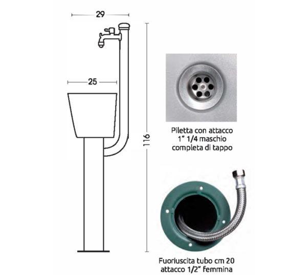 scheda tecnica fontana 42-ARC-ARRC