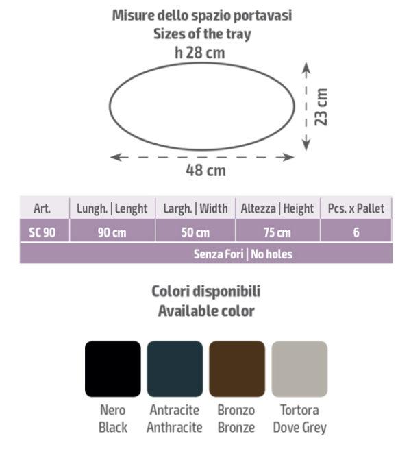 scheda tecnica vasi scudo