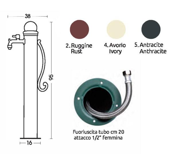 scheda tecnica fontana 42-ARP-ARRP